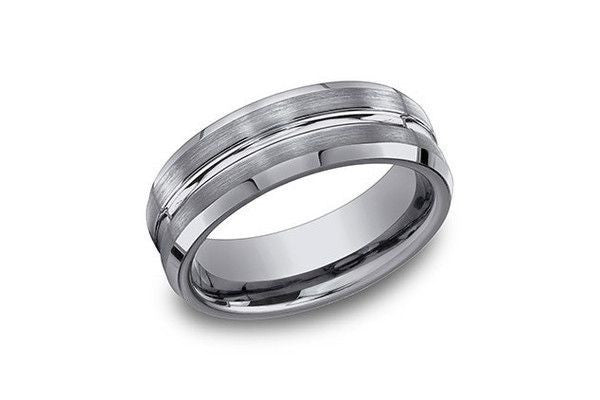 TUNGSTEN 7.0MM-Farsi Jewelers