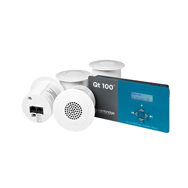 Qt 100 White Noise System With Emitters