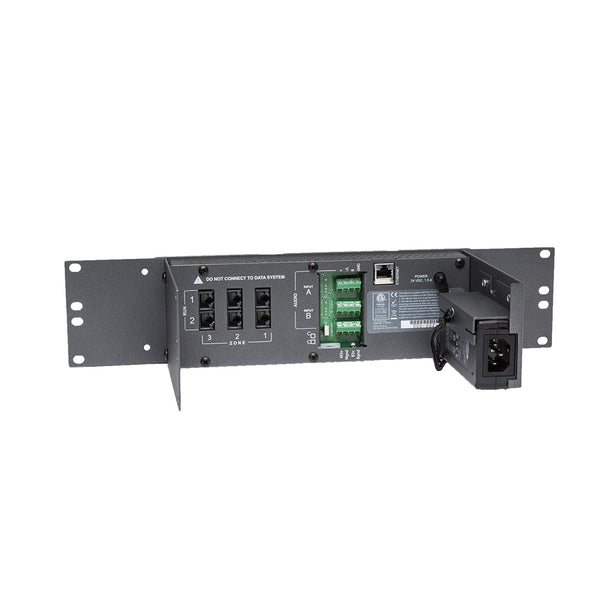 Qt 300® Sound Masking System for up to 36,000 ft² - 3 Zone Controller