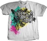 Eyes Set to Kill  -Rock Band-  T-Shirt Official Licensed Merchandise WHITE