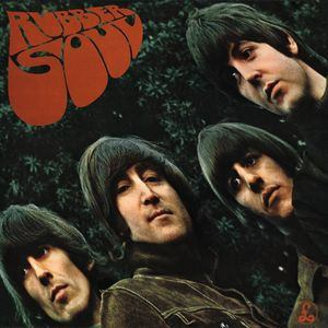The Beatles - Rubber Soul LP Stereo LP Record Album On Vinyl