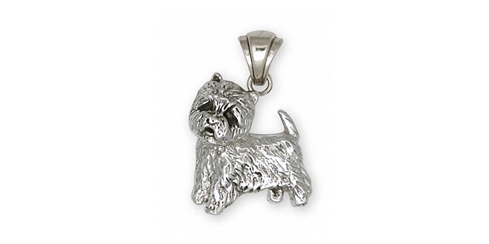Westie Charms Westie Pendant Sterling Silver West Highland White Terrier Jewelry Westie jewelry