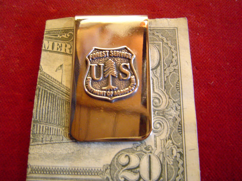 Money Clip: Forest Service