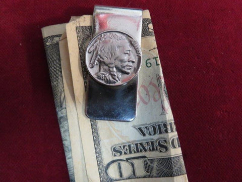 Money Clip: Indian Nickle coin