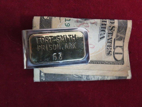 Money Clip: Fort Smith, Prison, Ark