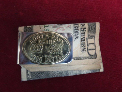 Money Clip: Army & Navy, Drink Coca-Cola