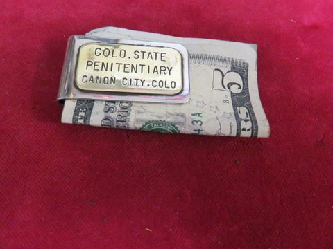 Money Clip: Colo. Penitentury