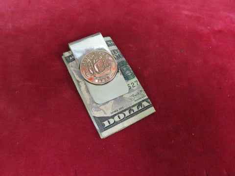 Money Clip: English Half Penny