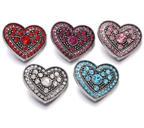 Diva Dot, Best Seller!! Heart Shaped with Crystals