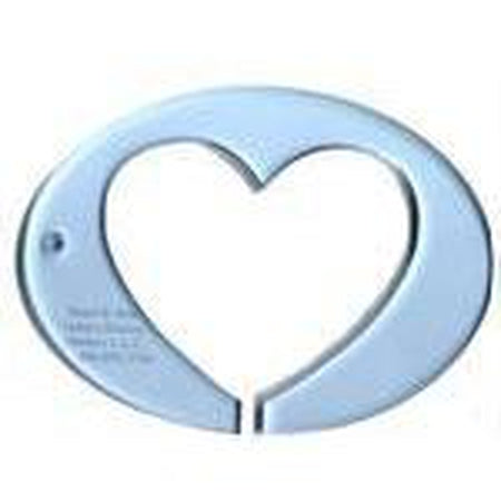 "Template 3"" Heart in 5 3/4 Oval"