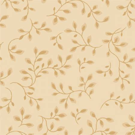 "108"" Tan - Light Ground Wideback COTTON (7882-46) -Sold by 1/4 m"