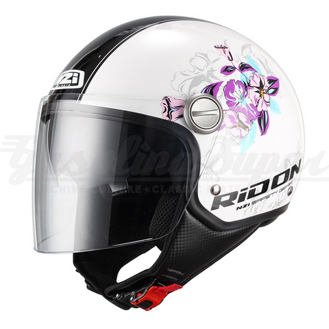 Capacete NZI aberto CAPITAL DUO BLOOM