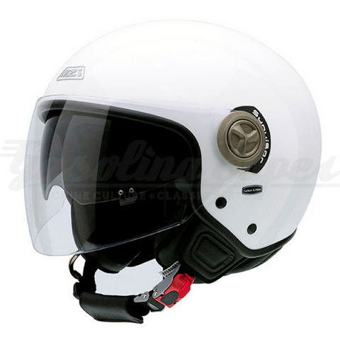 Capacete NZI aberto CENTER DUO WHITE