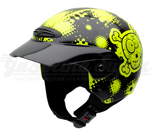 Capacete NZI aberto SINGLE II JUNIOR OSSICLES