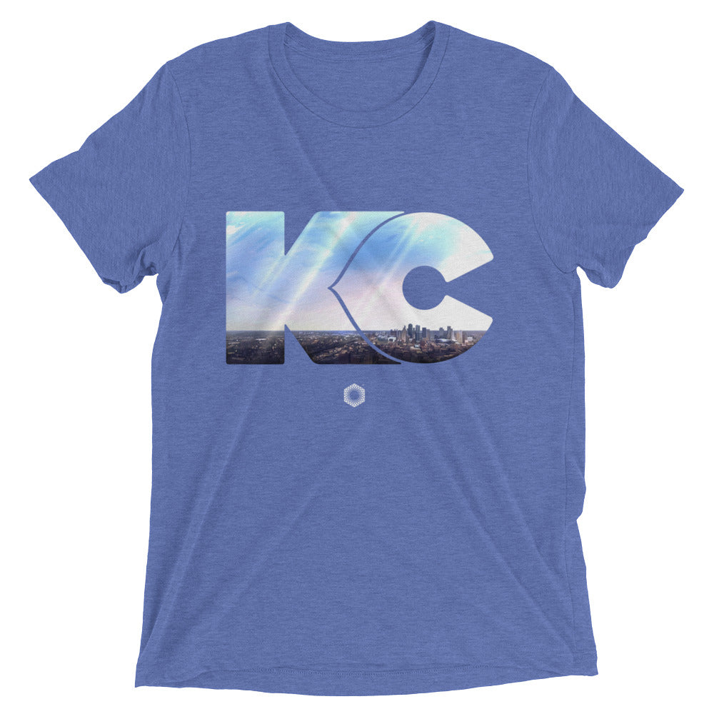 KC Skyline Mens Short Sleeve T-Shirt