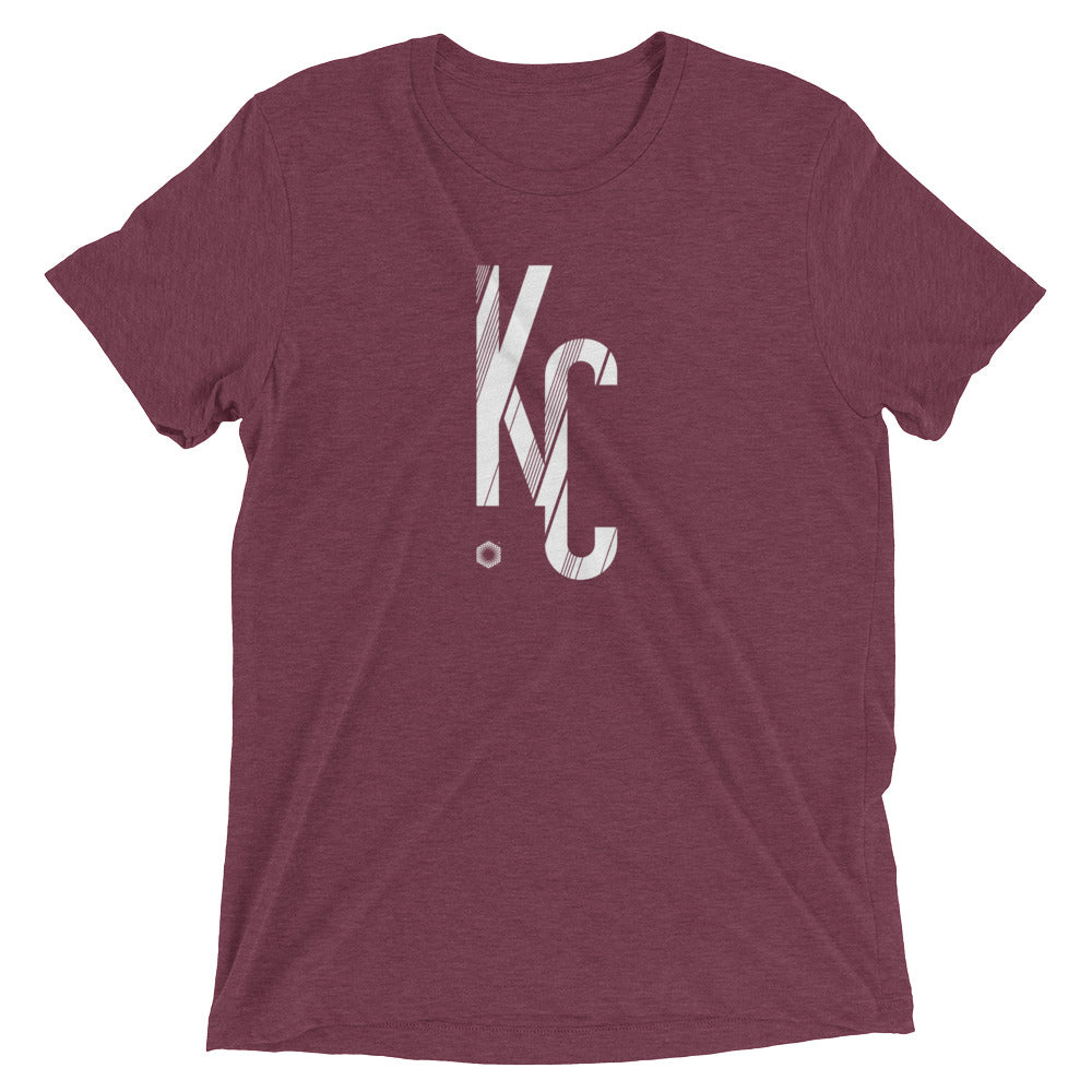 KC Sans: Mens Triblend Short sleeve t-shirt