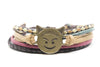 Emoji Bracelet Smiling Face with Horns - Orti Jewelry