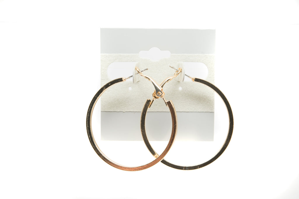 Hoop Fashion Earrings - Orti Jewelry