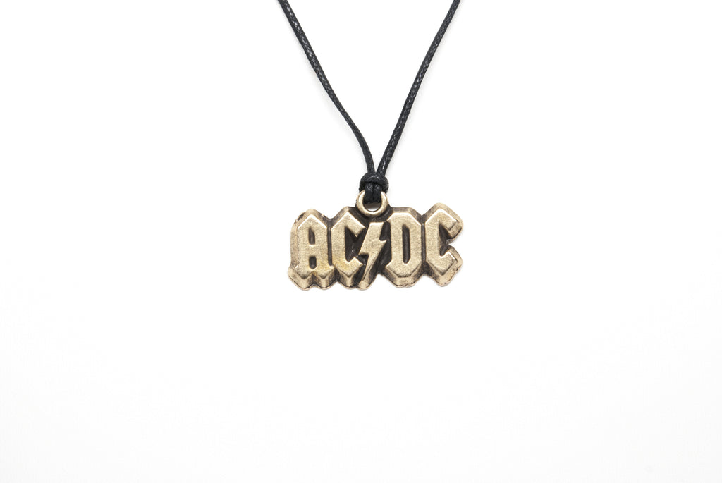 AC/DC Unisex Necklace with Rope - Orti Jewelry