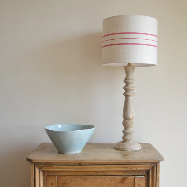 Mango Wood Table Lamp - Lolly & Boo - 1