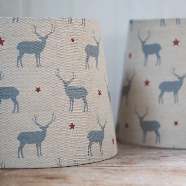 Stag All Star Linen Lampshade