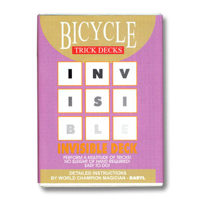 INVISIBLE DECK CARD TRICK - RED BICYCLE
