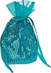 Fine Shimmer Sequin Organza Gift and Favor Bags