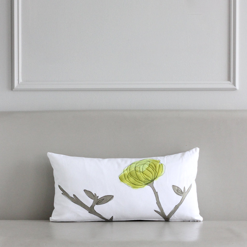 Chartreuse Breakfast Pillow