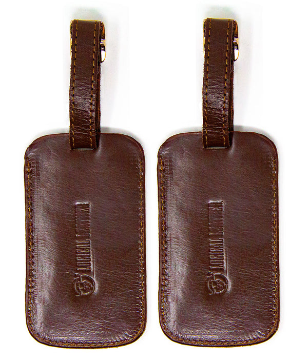 Leather Luggage Tags