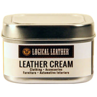 Natural Waterproofing Leather Cream - 8 oz.