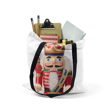 Tote, Nutcracker Christmas Bag by Ziya Blue