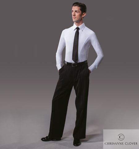 chrisanne clover mens ballroom practice shirt from dancewear for you australia and nz