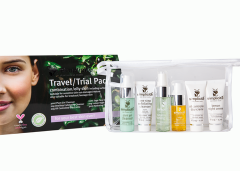 Basic Six Travel/Trial Pack Combination/Dry, Oily