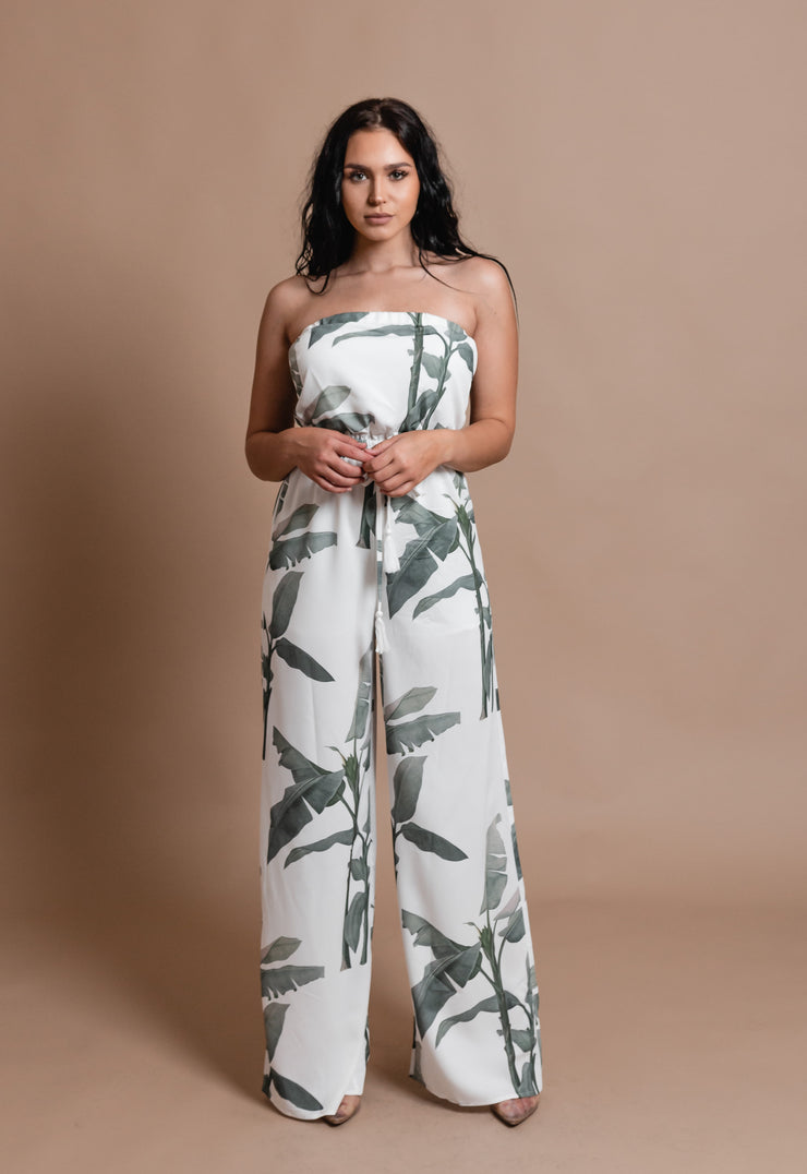 ANNA LEAF JUMPSUIT