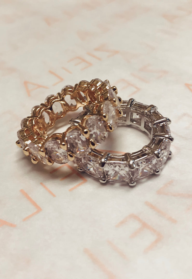 Crystal Ring-Gold