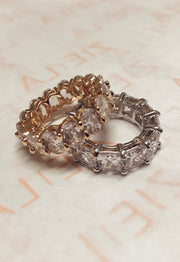 Crystal Ring-Silver