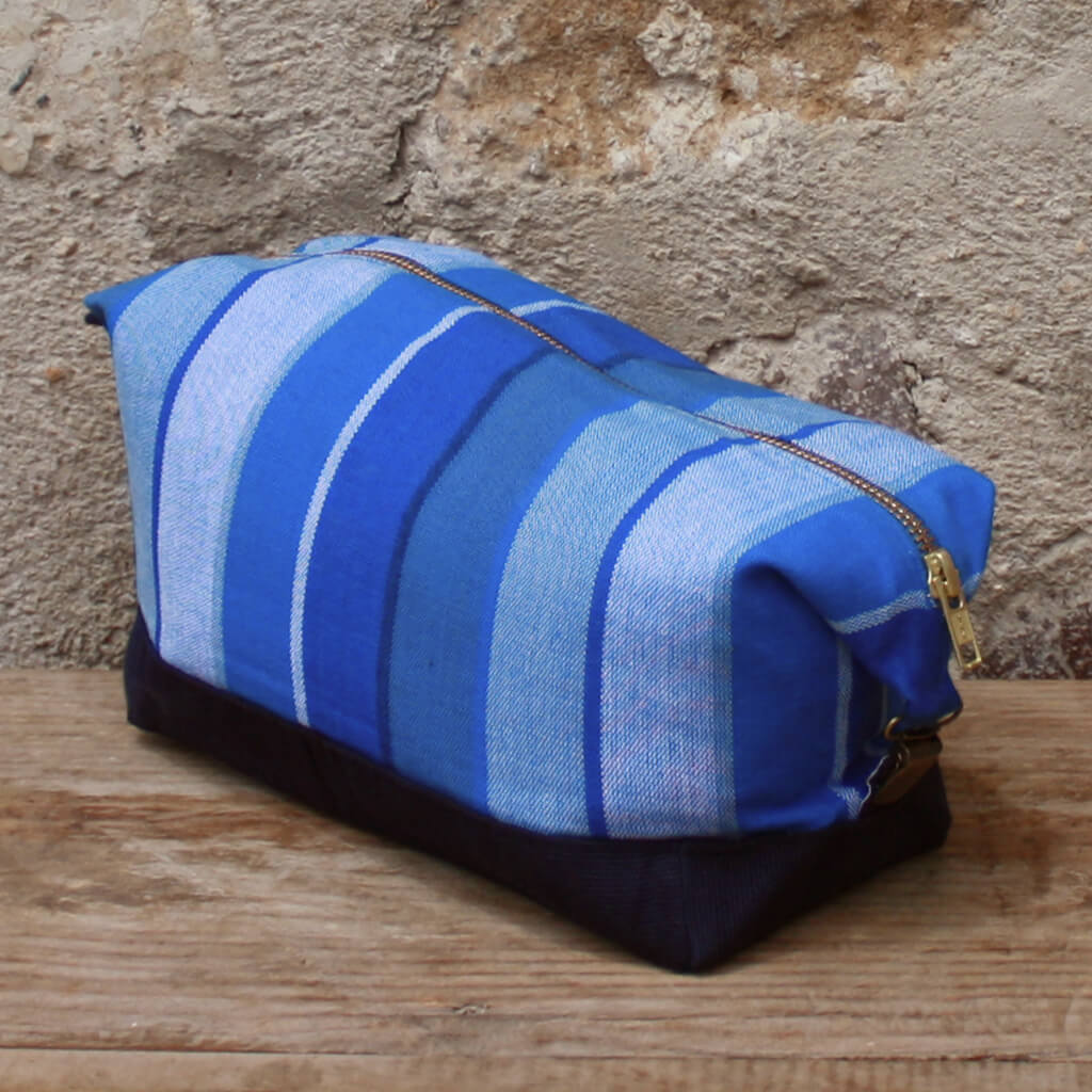 Toiletry Bag | Stormy Blues