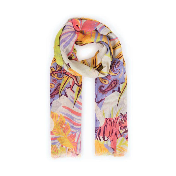 Powder Elephant Parade Scarf