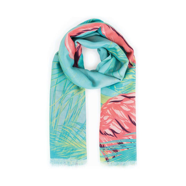 Powder Flamingo Scarf