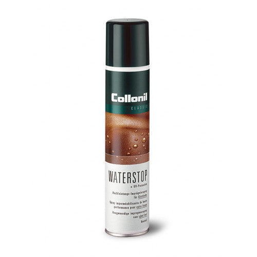 High grade waterproof protection spray suitable for all leathers.