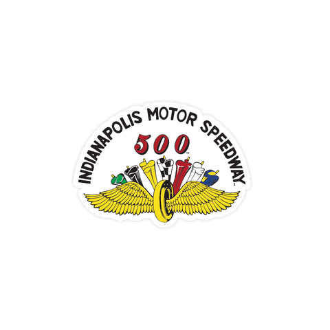 IMS Wing & Wheel & Flags Sticker