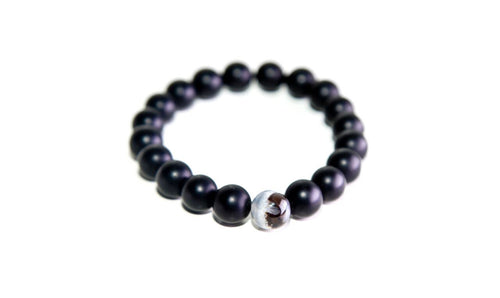 Dragon Vein Onyx Bracelet