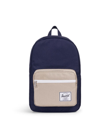 Pop Quiz Backpack- Peacoat/Eucalyptus