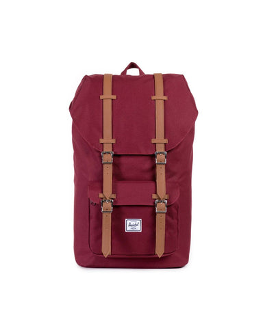 Little America Backpack- Windsor Wine/Tan
