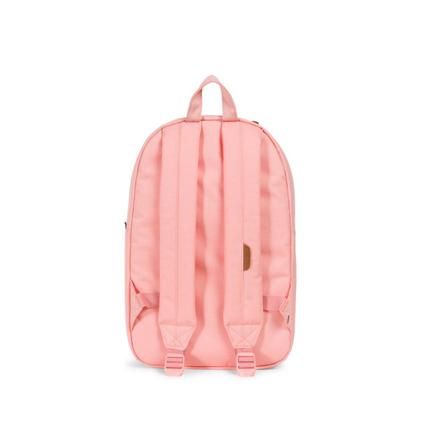 Heritage Backpack Mid-Volume- Peach/Light Grey Crosshatch