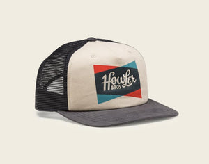 Classic Shapes Snapback - Off White/Navy