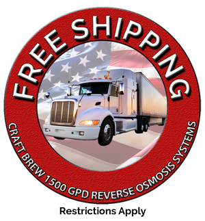 Free Shipping on all 1500 GPD RO