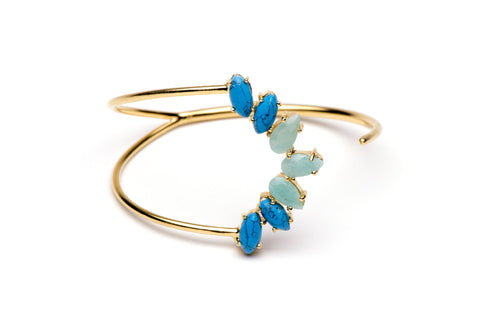 Meeza Bangle in Blue