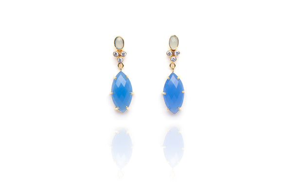 Blue Bayou Drop Earrings