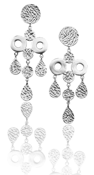 Cirque Earrings in Silver